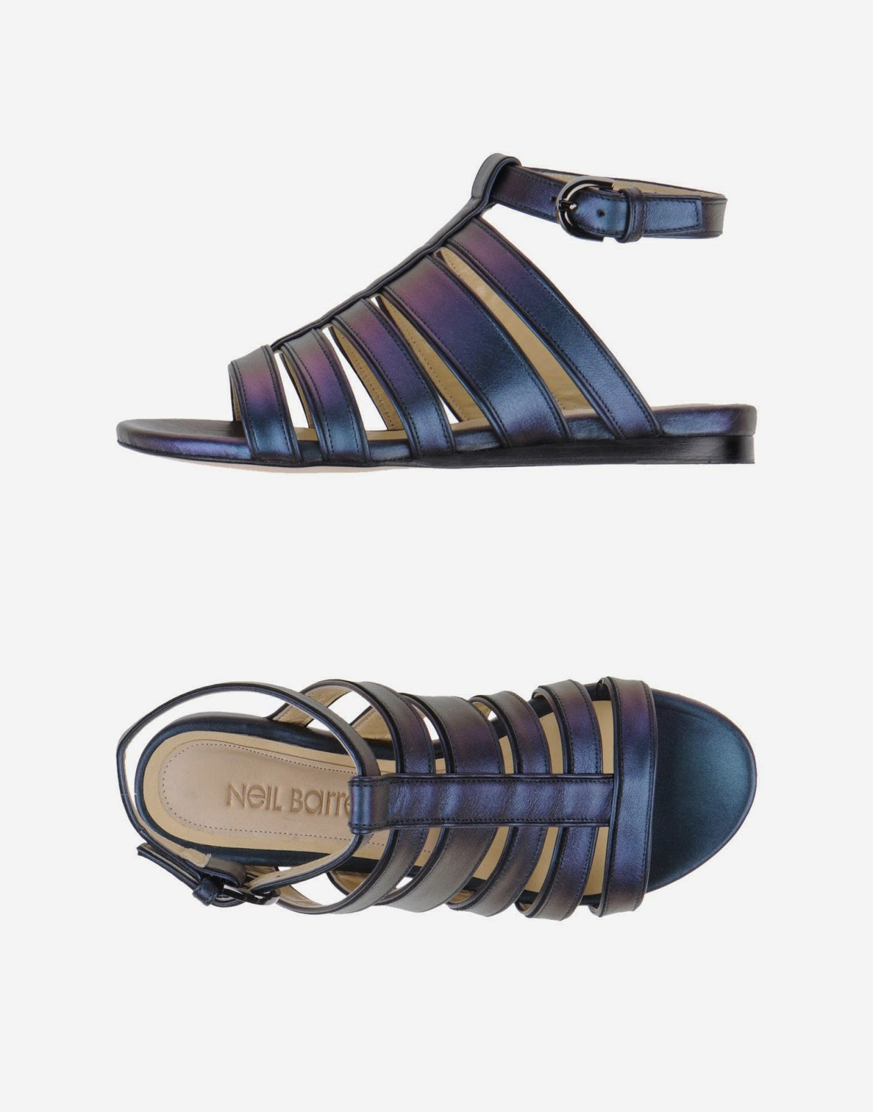 Neil Barrett strappy sandals