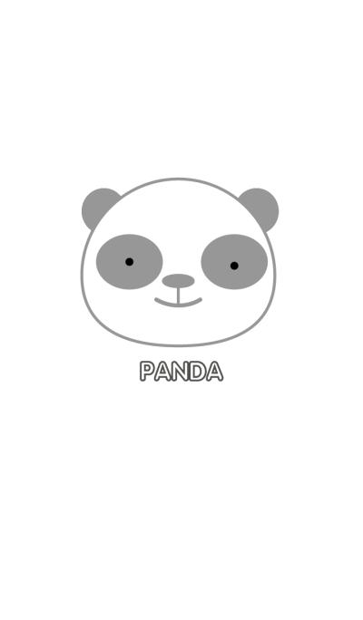 Simple white Panda theme