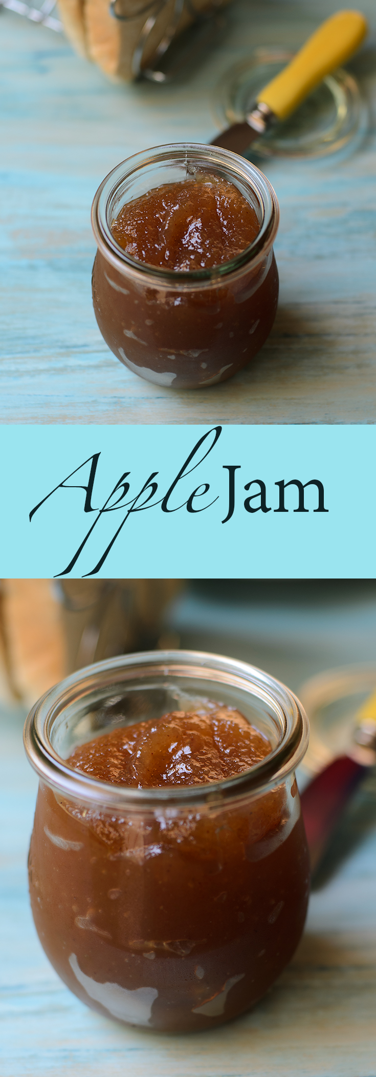 Homemade apple jam recipe. Apple jam or also known as apple butter, marvellous to serve with scones or just spread on buttered toast.