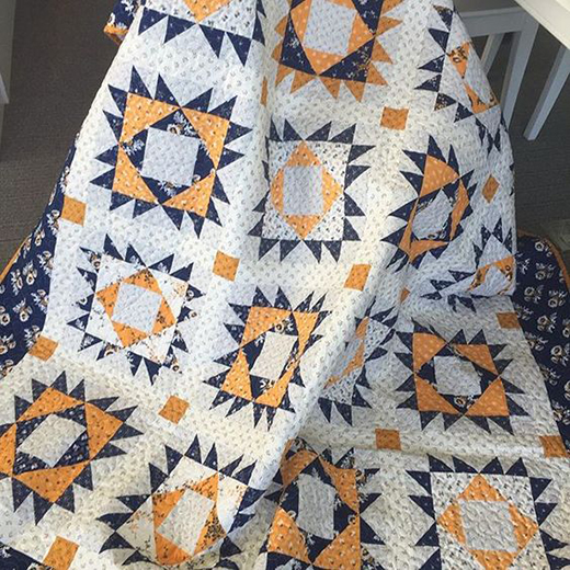 Blue Cheese Quilt Free Pattern