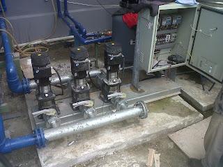 pembuatan panel pompa