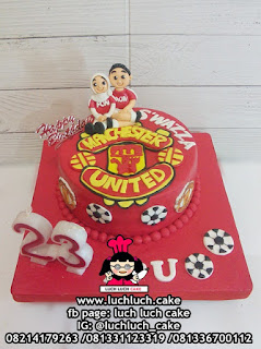 Kue Tart Fondant Manchester United