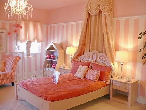 dormitorio estilo princesa