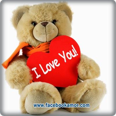 imagen de peluche con corazón de amor
