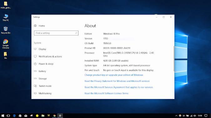 Windows 10 creator update 1703 ISO download
