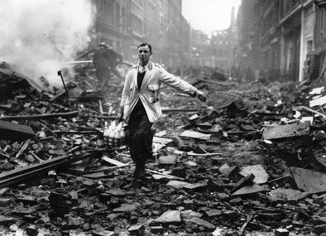 9 October 1940 worldwartwo.filminspector.com London Blitz Battle of Britain milkman