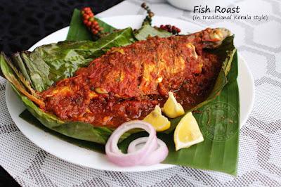 pachakurumulak meen varuthath banana leaf meen wrap