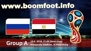 مشاهدة مباراة مصر روسيا مباشر كورة لايف