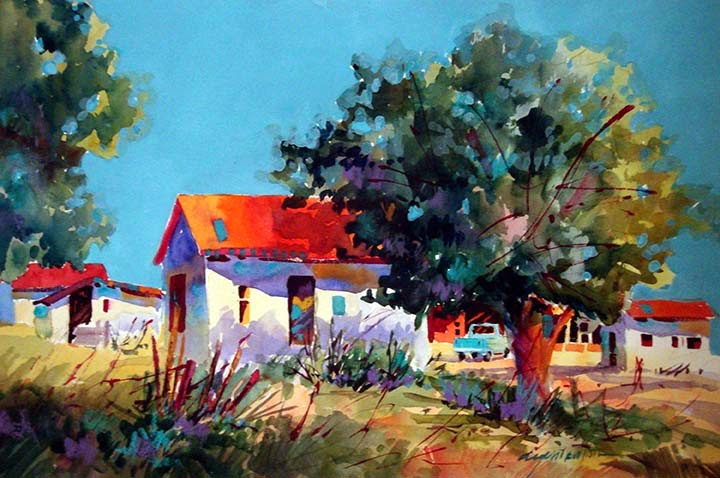 VL Studio Visits: Dyan Newton, Artist of Texas, Visual ...