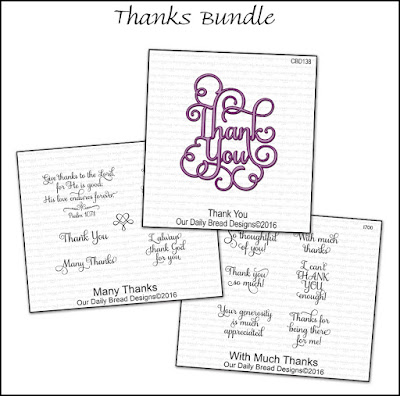 Our Daily Bread Designs Thanks Bundle