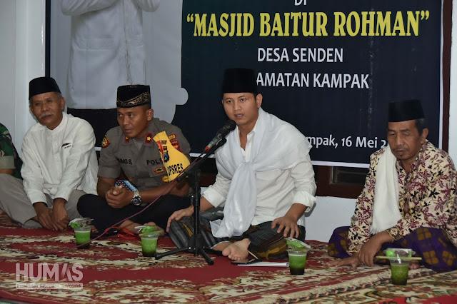Safari Ramadhan di Desa Senden, Plt Bupati Nur Arifin Dengarkan Aspirasi dan Buka Puasa Bersama Masyarakat