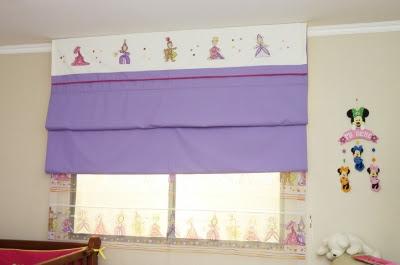 Mnica Diseos Cmo hacer una cortina romana