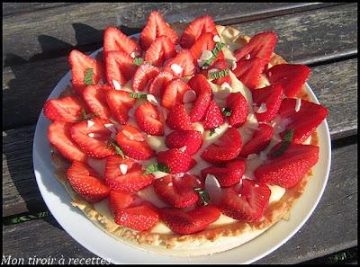 tarte aux fraises pierre hermé