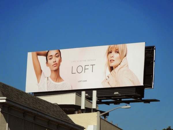 Loft Life is in the details Spring 2014 billboard