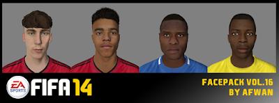 FIFA 14 Facepack Vol. 16 by Afwan