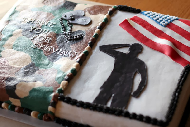 The Ganos Veterans Day  Cake