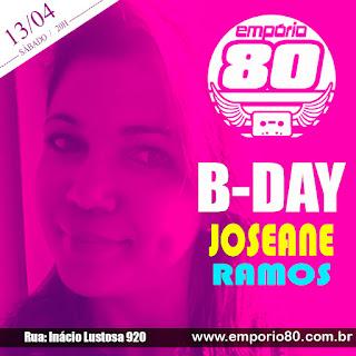 Aniversário Joseane Ramos