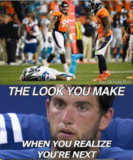 #nfl #nflmeme #andrewluck - the look you make when you realize you're next