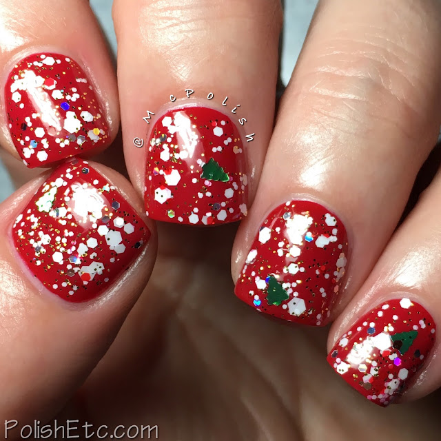 Whimsical Ideas by Pam - Holiday 2017 - McPolish - Christmas 2017