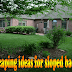 Landscaping ideas for sloped backyard