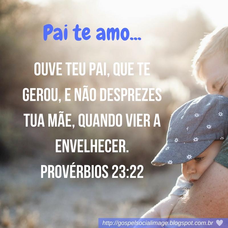Mensagem de Amor Feliz dia dos Pais