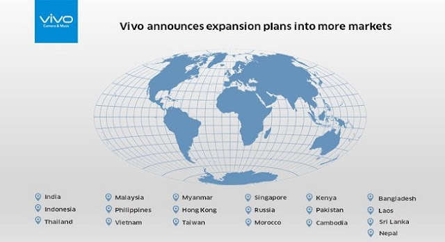 Vivo will go to Africa