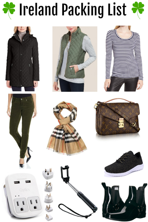 what to bring to Ireland, what to wear in ireland, irish country side packing list