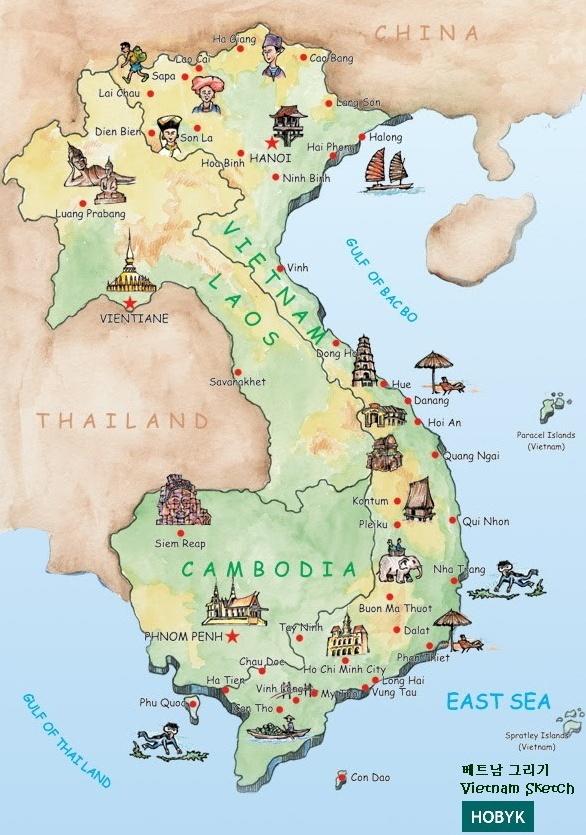 Tra Vietnam E Thailandia Cartina Geografica.Vietnam Informazioni Pratiche Prima Di Partire Ci Vediamo Quando Torno