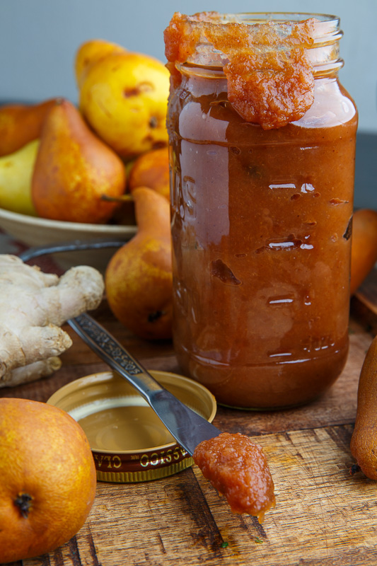 Slow Cooker Pear Butter