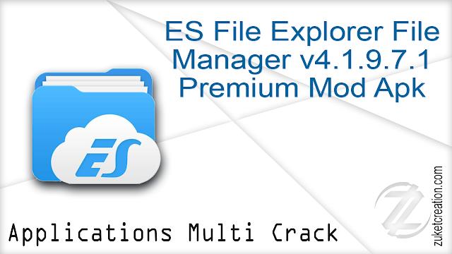 ES File Explorer File Manager v4.1.9.7.1 Premium Mod Apk