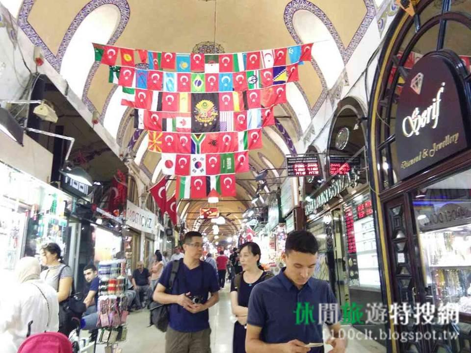 [土耳其/伊斯坦堡] 世界上最大最古老的巴扎之一:大巴札(Grand Bazaar)