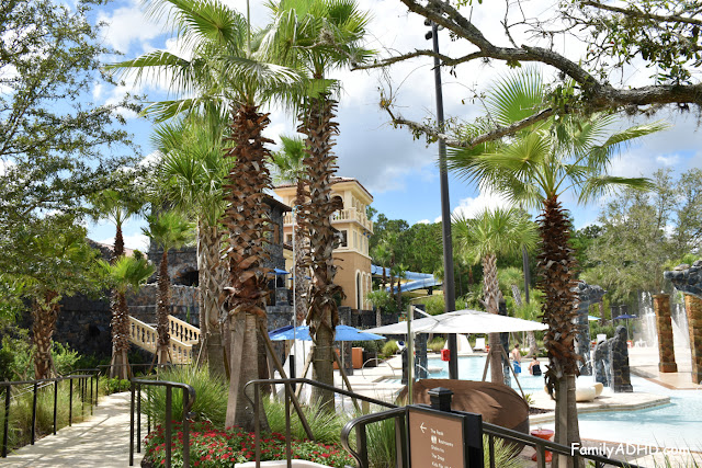 Four Seasons Resort Orlando at Walt Disney World Resort Park-View Suite Family Travel Guide water slide