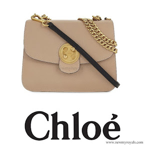 Queen Rania carried CHLOE Mily medium leather shoulder bag
