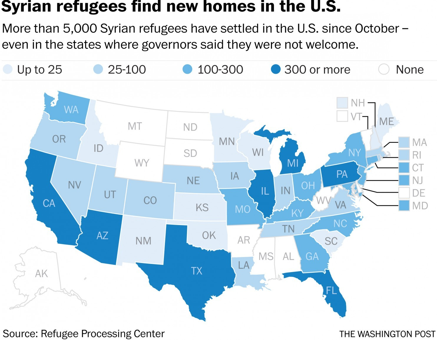 Syrian refugees find new homes in the USA