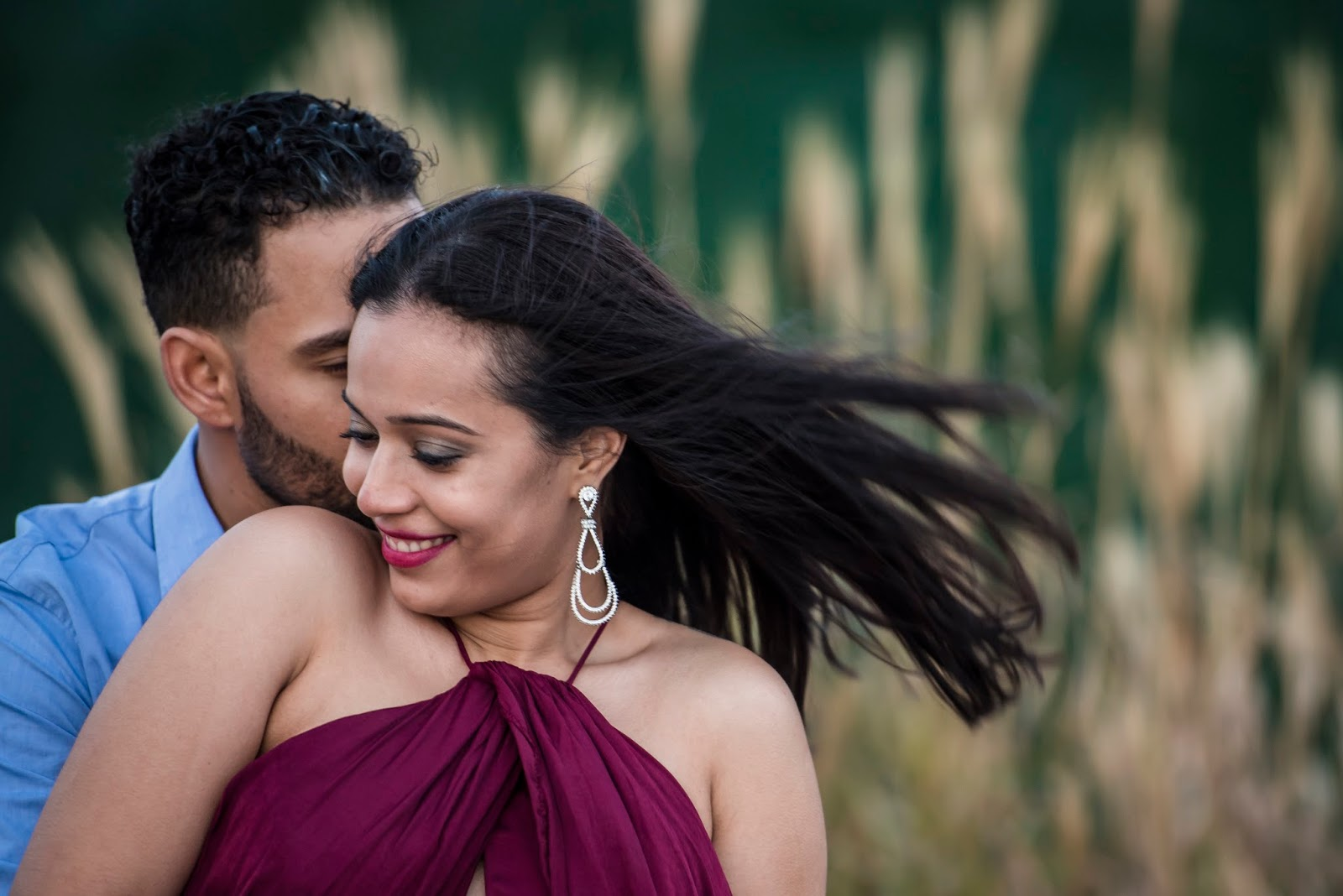 pre-wedding poses ideas
