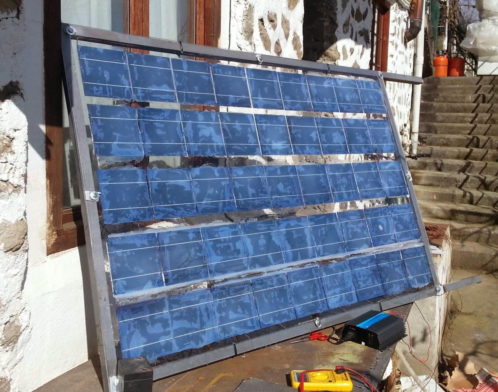 Como Hacer Un Panel Solar Casero Tecnolog 237 A Para Un