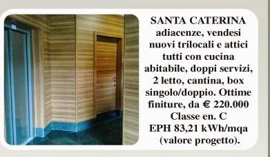 Bergamo attico zona Suardi vendita