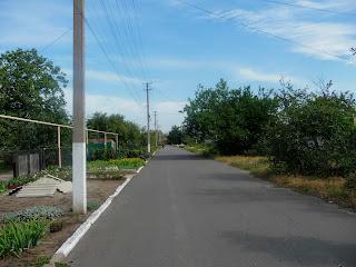 Клебан-Бык. Улица Зелёная