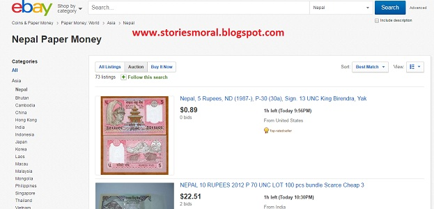 How To Sell Nepali Notes On Ebay And Olx Moral Stories