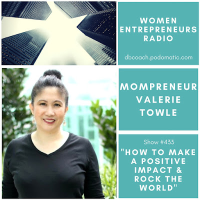 together with founder of Syaval garden slice of furniture a arrangement dealing inwards enterprise timber slice of furniture w Mompreneur Valerie Towle: How to Make a Positive Impact & Rock the World on Women Entrepreneurs Radio™