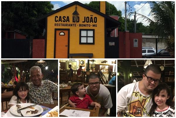 restaurante em Bonito