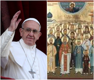 Pope Francis proclaims 35 new Saints including 33 Martyrs 1