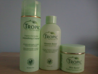 Learn your ABC's with Tropic Pure Plant Skincare