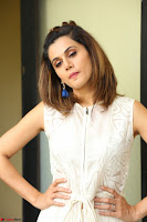 Taapsee Pannu in cream Sleeveless Kurti and Leggings at interview about Anando hma ~  Exclusive Celebrities Galleries 049.JPG