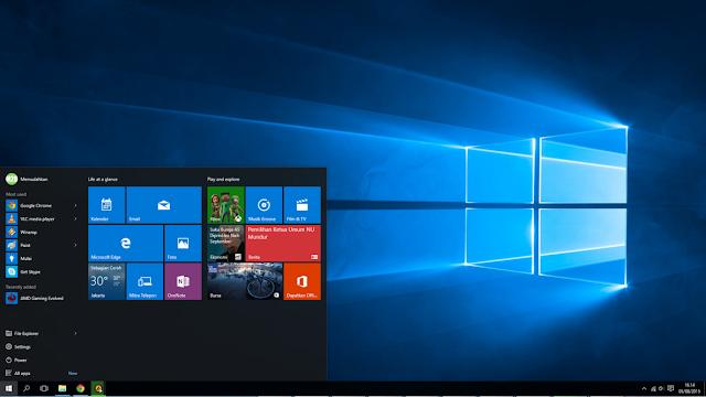 Cara Install Windows 10 Mudah dan Lengkap Menggunakan Flashdisk