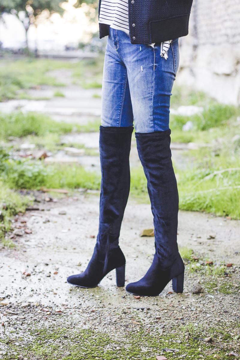 Black Velvet Shoe Boots