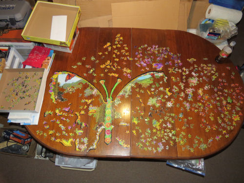 jigsaw puzzle fox