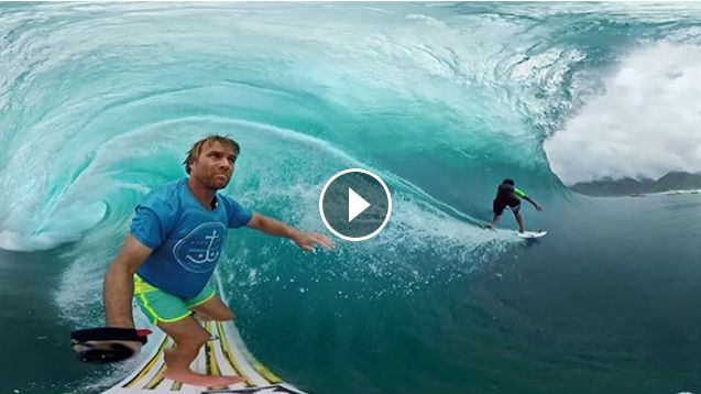 GoPro VR Tahiti Surf with Anthony Walsh and Matahi Drollet