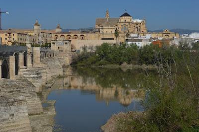 River Guadalquivir and Mezquita