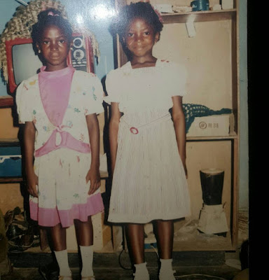lindaikeji and sister verachi
